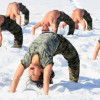 Yoga Photo Of The Day: Snowy Wheel Pose